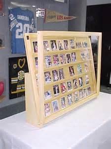 Baseball Card Storage Cabinet 1 2 Tabletop Baseball Card Display Case Golden Oak With