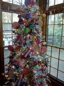 candyland tree two smaller topiaries in sugared urns