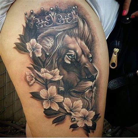 imagenes no realistas con su significado tatuajes de leones para hombres mujeres y sus diferentes
