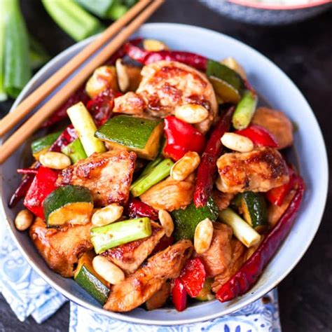 Kung Pao Chicken Lve kung pao chicken nicky s kitchen sanctuary