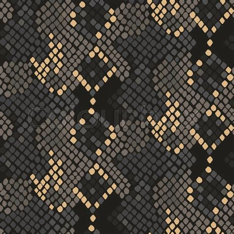 brown pattern snake snake skin seamless vector texture brown tone colors