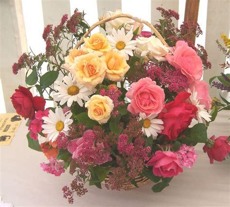 summer flower bouquet of flowers