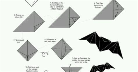 Broken Origami - broken how to make an origami bat 3 origami diy
