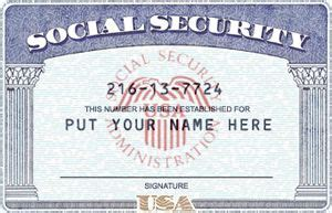 Social Security Card Template Free by Psd Ssn Template Social Security Number Soci Ideas For