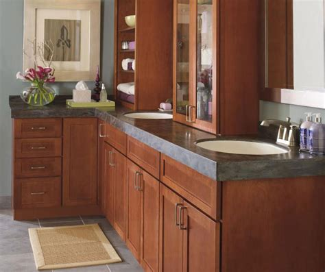 shaker bathroom cabinets shaker style bathroom cabinets kemper cabinetry