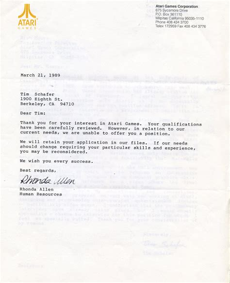 Rejection Letter Car Fine News
