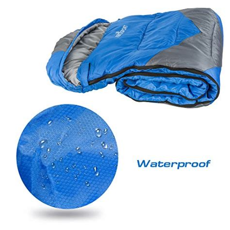 Comfort Rating Sleeping Bag by Abco Tech Sleeping Bag Envelope Lightweight Portable