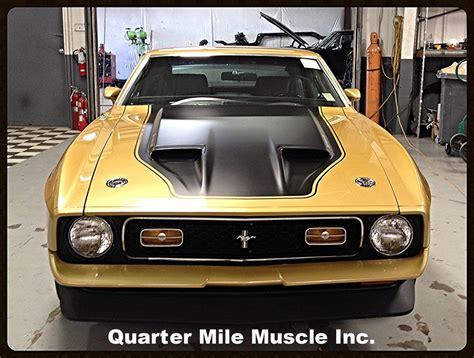 classic paint quarter mile muscle inc