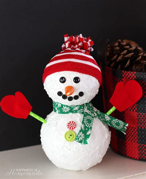 christmas snowman holiday decoration happiness  homemade