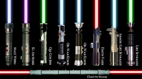 lightsaber colors and their meanings what color lightsaber would you wield just for