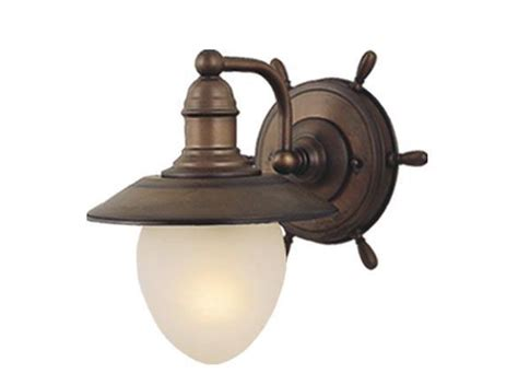 red bathroom light orleans nautical wall lighting vaxcel antique country red bath light wl25501rc