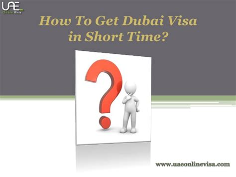 How To Get A Visa - how to get dubai visa in short time