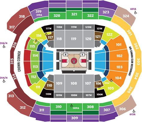 toronto raptors air canada centre tickets