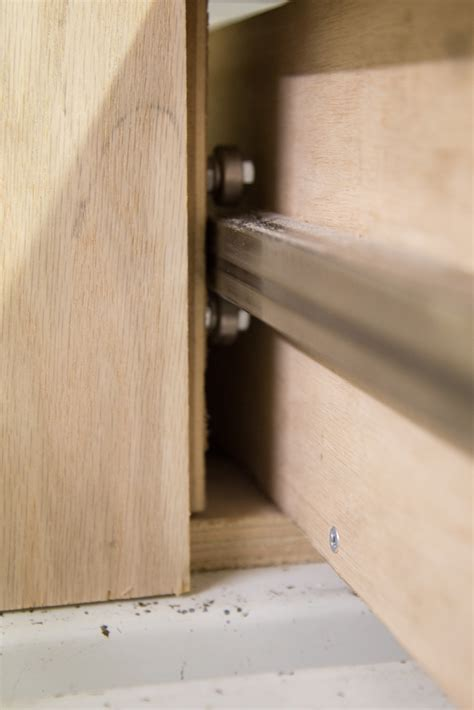cheap drawer slides diy home made drawer slides strong and cheap ih8mud forum