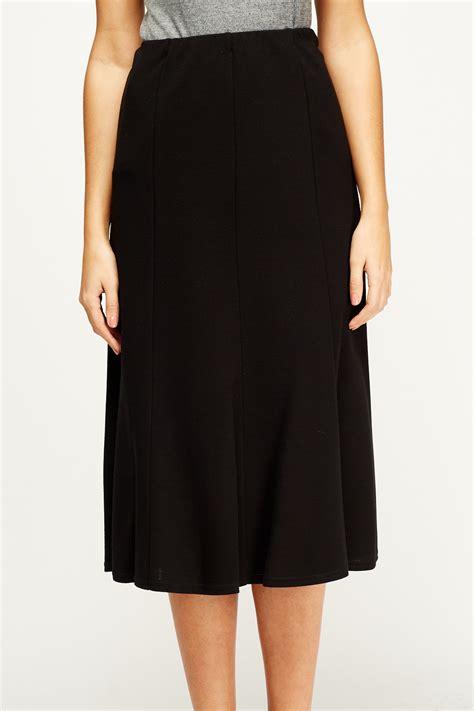 black midi skirt just 163 5