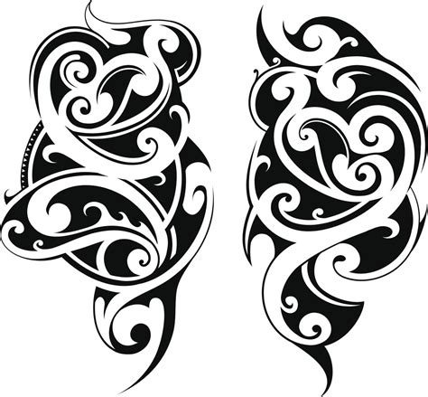 maori inspired tribal tattoo polynesian designs and meanings