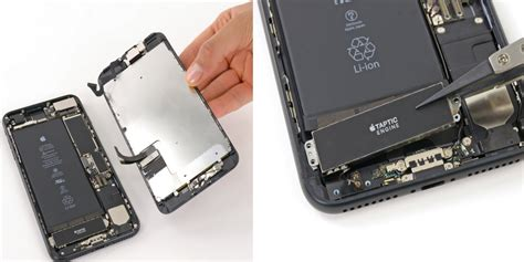 replace iphone    battery display taptic