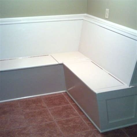 Storage Banquette Seating by Handmade Built In Kitchen Bench Banquette Seating With