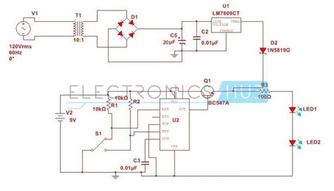 automatic changeover switch circuit   timer  circuit diagram power supply