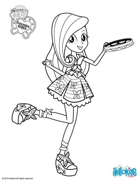 Fluttershy Coloring Pages Hellokids Com Mlp Eg Coloring Pages