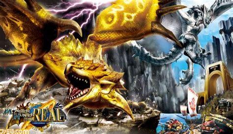 theme psp monster hunter monster hunter theme park universal monster hunter