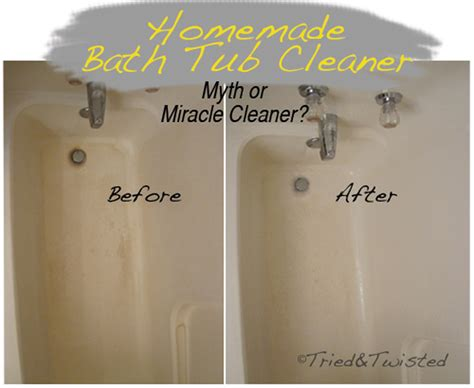 cleaner for acrylic bathtubs tried and twisted myth or miracle cleaner series clean