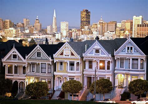 Victorian Houses by Alamo Square San Francisco Neighborhoods Cbpi