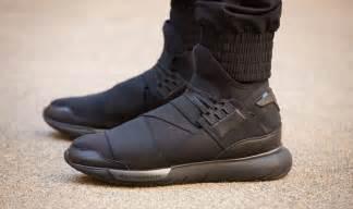 y 3 shoes new adidas y 3 qasa high all black yohji yamamoto sneakers