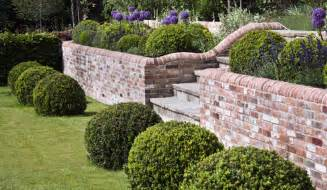 landscaping front garden walls ideas uk