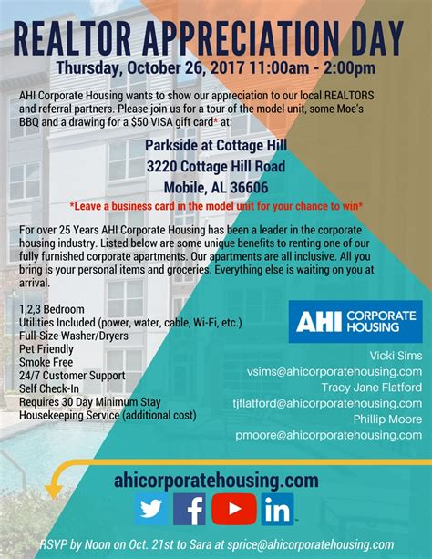 ahi corporate housing upcoming events ahi corporate housing