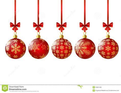 imagenes navidad bolas bolas rojas de la navidad ilustraci 243 n del vector