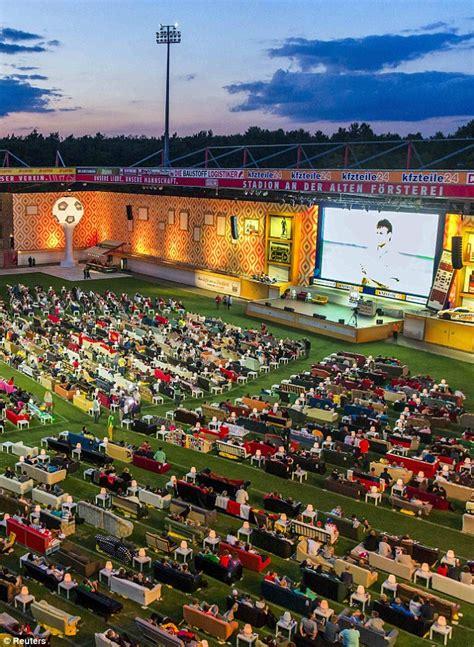union berlin invite fans  bring sofas   stadium