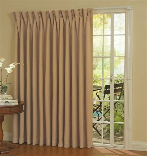 single panel curtain for sliding glass door drapes for sliding glass doors ideas with elegant wheat