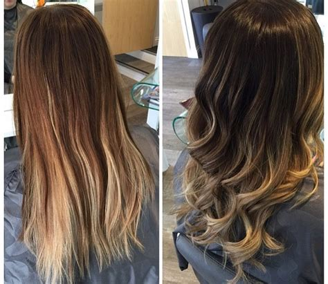 highlights vs ombre style balayage or ombre hair