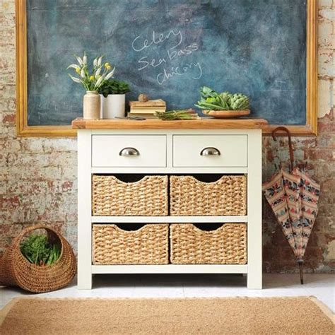 sofa table with wicker baskets the world s catalog of ideas