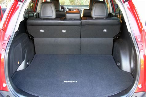 Toyota Rav4 Cargo Space Dimensions Toyota Rav4 Boot Space Dimensions