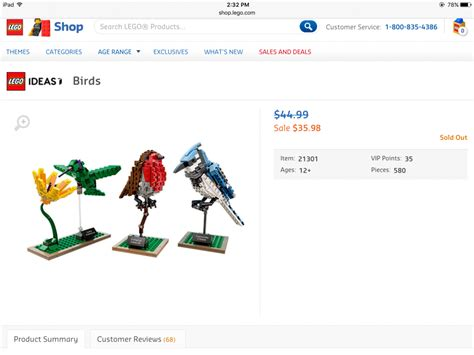 Diskon Lego 21301 Birds 1 is the recent discount with lego 21301 for the birds