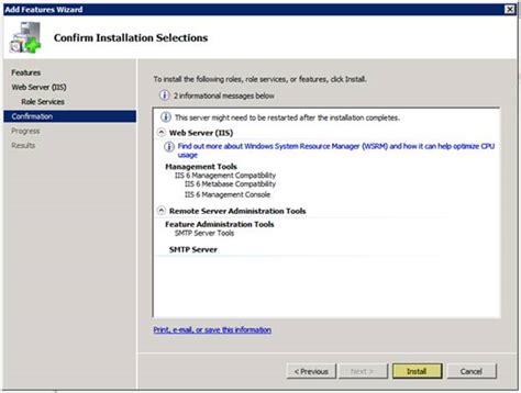 configure xp e mail configure smtp e mail in iis 7 the official microsoft