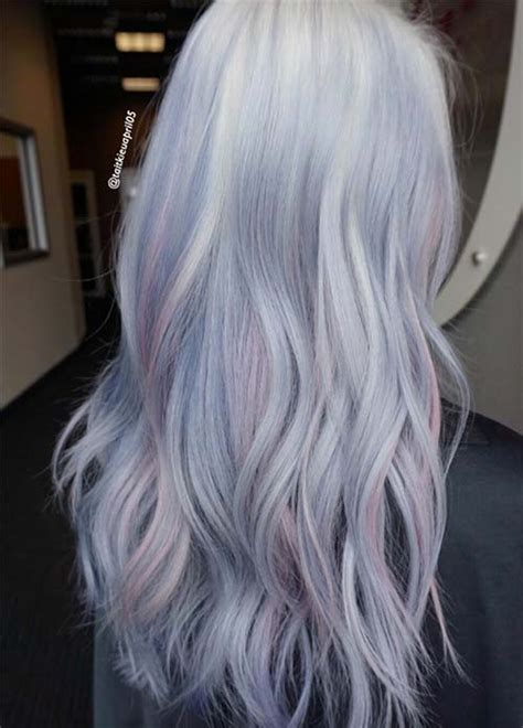 best gray hair color ideas hair tips for going gray purple silver hair www pixshark com images galleries