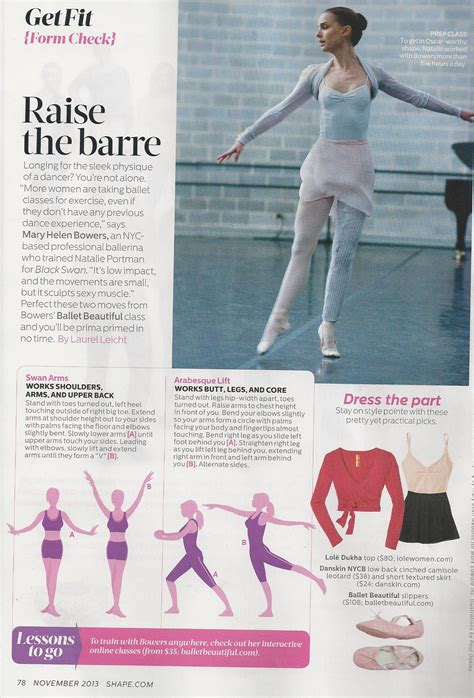 raising the barre big dreams false starts and my midlife quest to the nutcracker books what did we learn this month shape magazine kate hudson