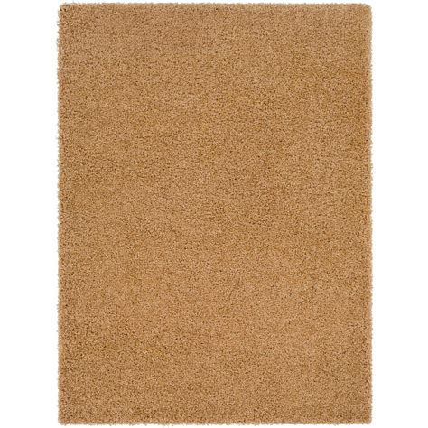light brown shag rug surya galaxy shag light brown 7 ft 10 in x 10 ft 3 in indoor area rug gys4501 710103 the