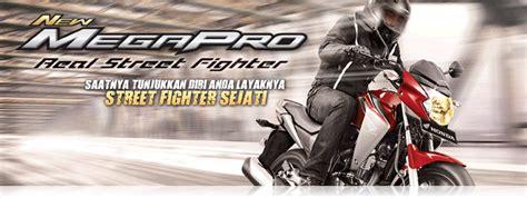 Standar Tengah Honda New Mega Pro Monoshock Karburator Original Ahm motor honda terbaru tulungagung new megapro