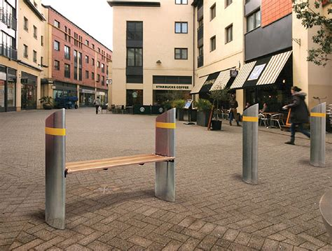 street furniture benches pas68 street furniture from safetyflex