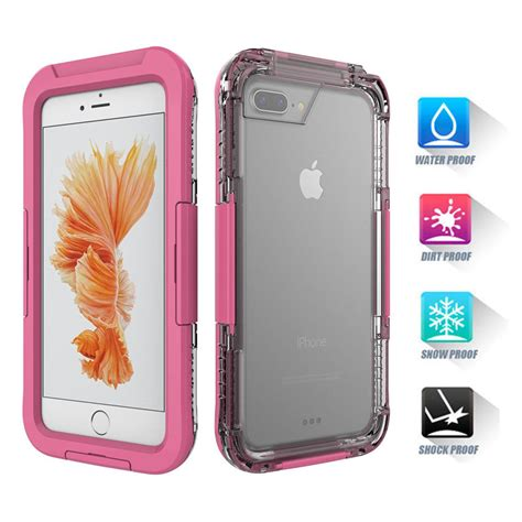 waterproof shockproof hybrid tpu phone cover for iphone 6s plus 5 5 quot ebay