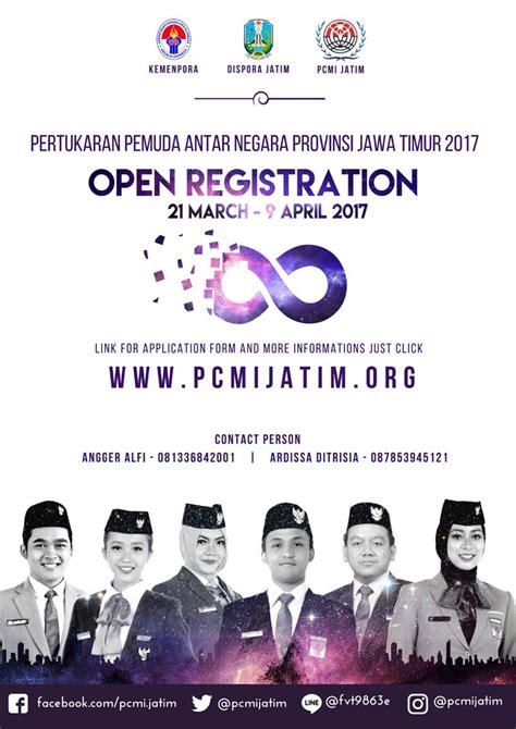 Ac 1 2 Pk Jawa Timur seleksi pertukaran pemuda antar negara ppan jawa timur
