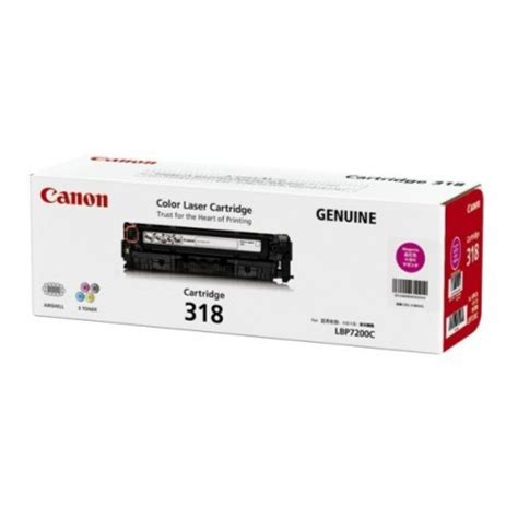 canon cartridge 318 magenta toner cartridge