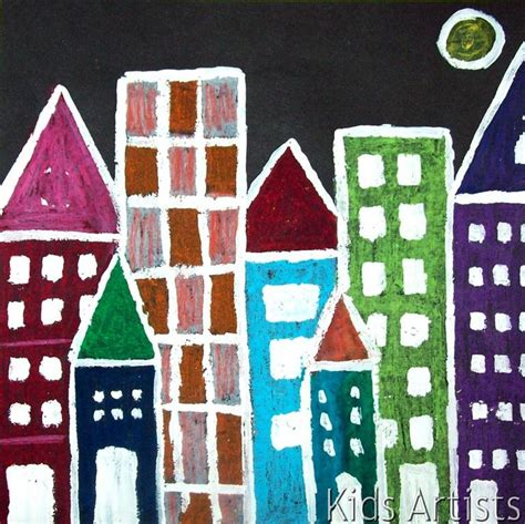 artists cityscape at projects