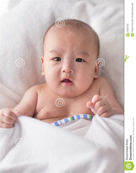 bathtub for 3 month old baby 3 month old asian baby boy after bath stock image image