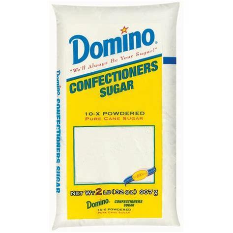 domino pure cane confectioners 10 x powdered sugar 2 lb