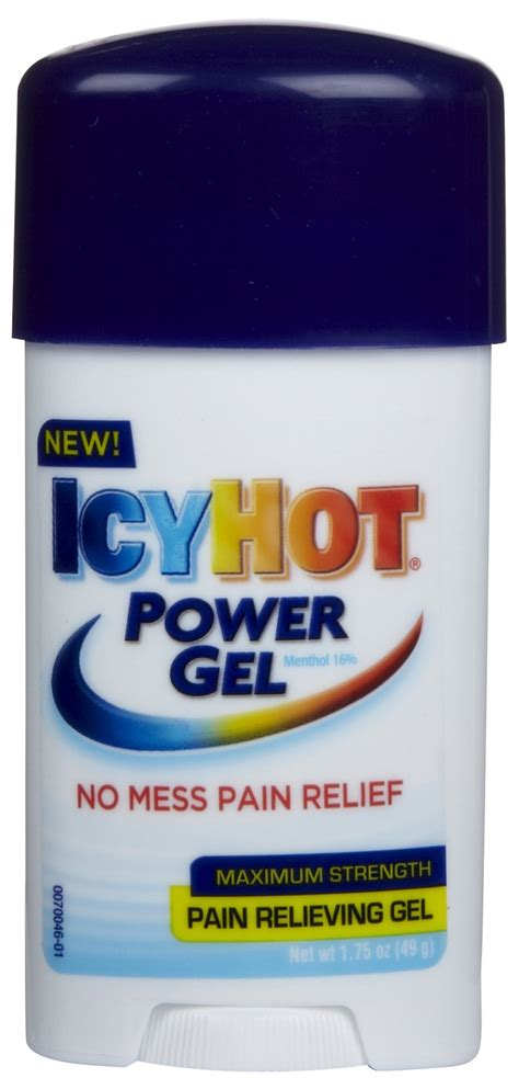 icy hot gel icy hot icy hot pain relieving power gel tagsale co